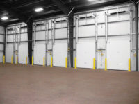 Cold Guard Vertical Lift Doors lineup Application image 1