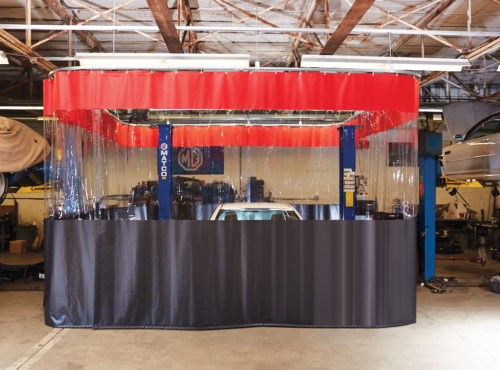 Industrial Curtain Auto