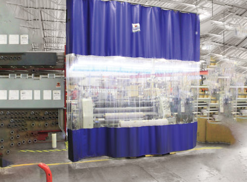 Industrial Curtain Interior