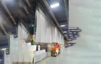Industrial Curtain Large Interior