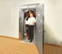 Polar Pro PVC Impact Door Person