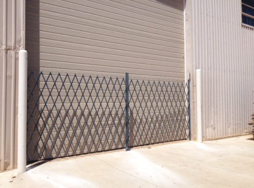 Folding Security Gate Application image
