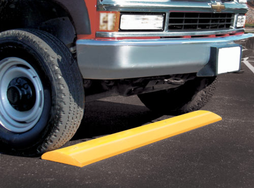 Recycled Plastic Parking Block and Speed Bump