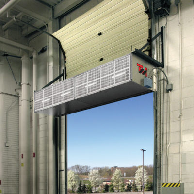 Heavy Duty Industrial Series Air Curtain